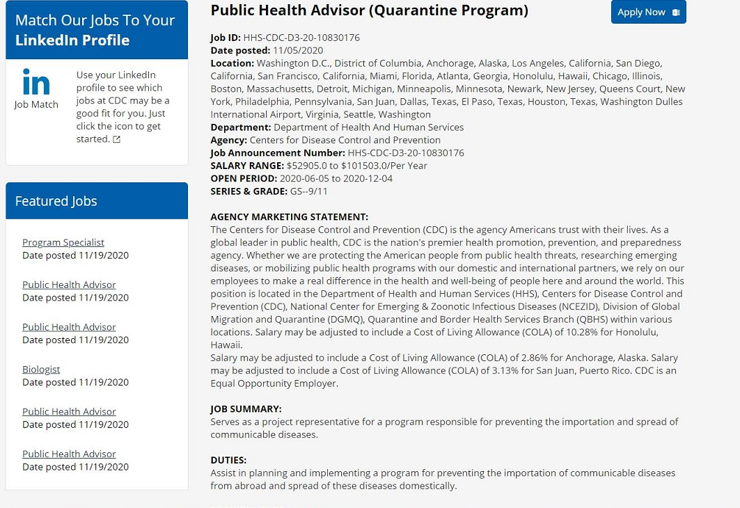 Quarantine Programs in The USA—Here comes your nineteenth Nervous Breakdown… Public-health-advisor-quarantine-programcropped